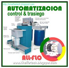Automatización. TRASIEGO, software y hardware de precisión.