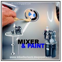 Mixer & bombas para aplicaciones de pinturas.