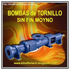 Bombas de Tornillo sin fin MOYNO.