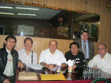 Poetas: Jorge Ita Gmez, Julio Carmona, Pedro Lpez G., yo, Carlos Ziga Segura y Santiago Risso.