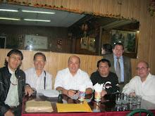 Poetas: Jorge Ita Gómez, Julio Carmona, Pedro López G., yo, Carlos Zúñiga Segura y Santiago Risso.