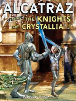 Alcatraz vs The Knights of Crystallia by Brandon Sanderson