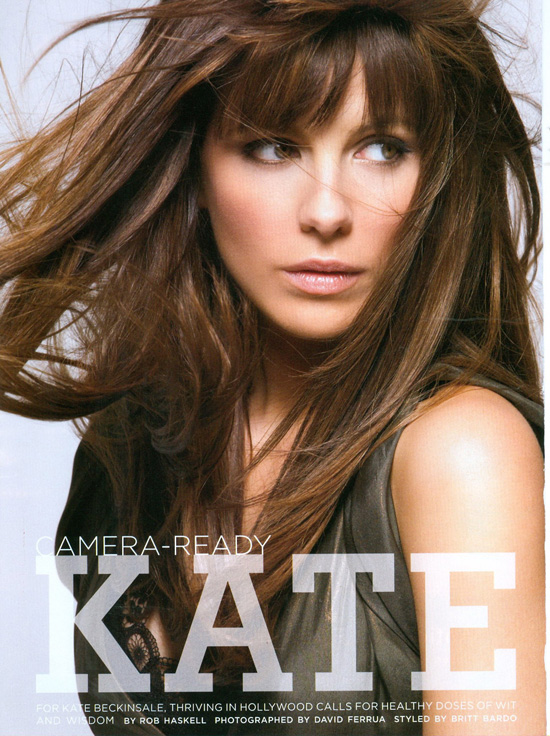 Beauty Look Celebrity Kate Beckinsale Hairstyles 01