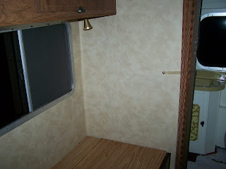 the return of big mo wallpapering over paneling in an rv. Black Bedroom Furniture Sets. Home Design Ideas
