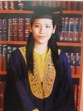 on my graduation