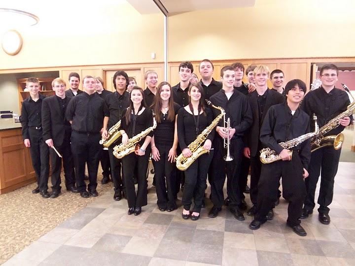 Alvirne High School Jazz Band Performance