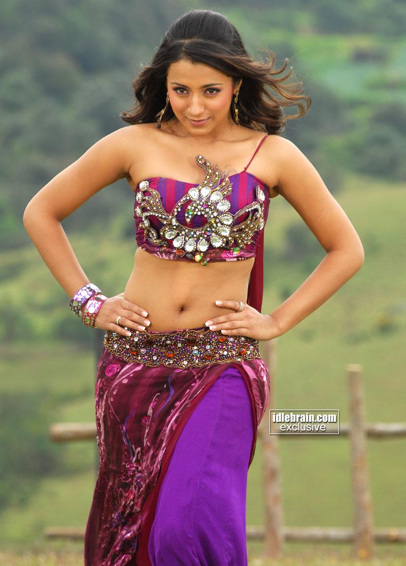 Displaying 20> Images For - Trisha Hot In Bheema...
