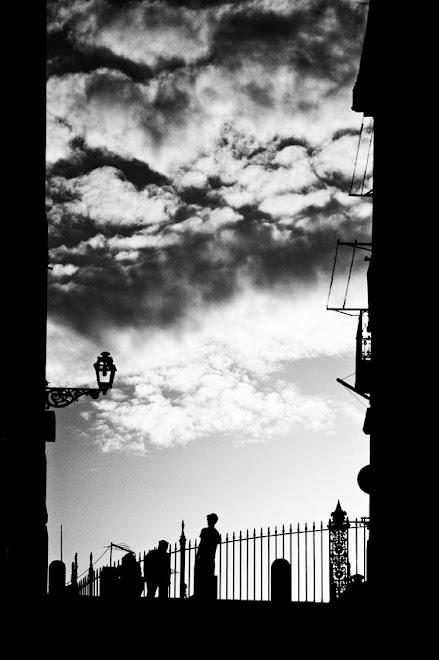 Beco a Preto e Branco - Lisboa