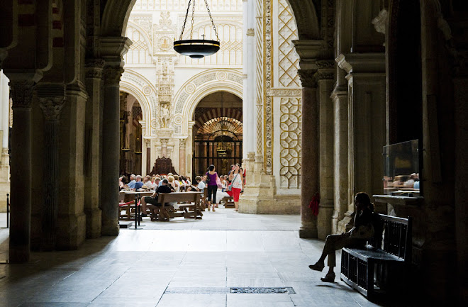 Uma chamada do divino? - Mesquita de Córdoba, Córdoba, Espanha