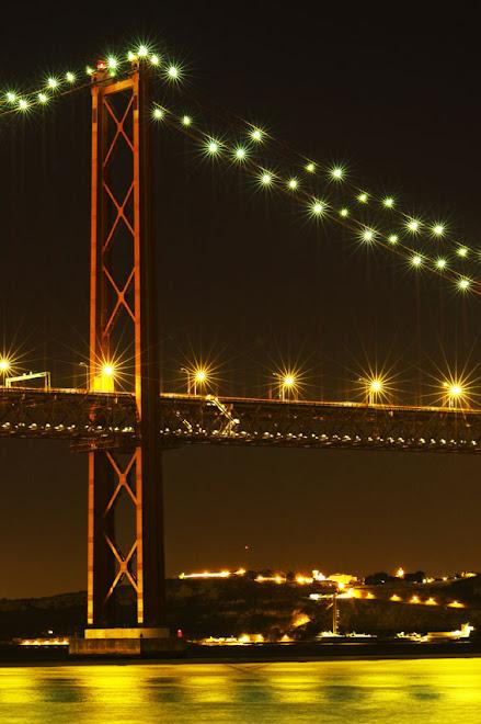 A ponte e a outra margem - Ponte 25 de Abril, Lisboa