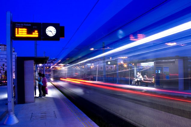 À passagem do MST - Metro Sul do Tejo