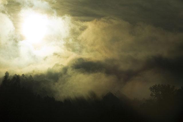 Rasgando a névoa - Vila Nova de Cerveira