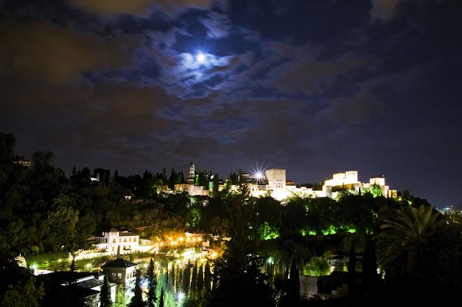 Alhambra, Nocturno - Alhambra, Granada