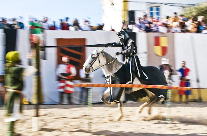 No alvo! - Feira Medieval de Avis 2010