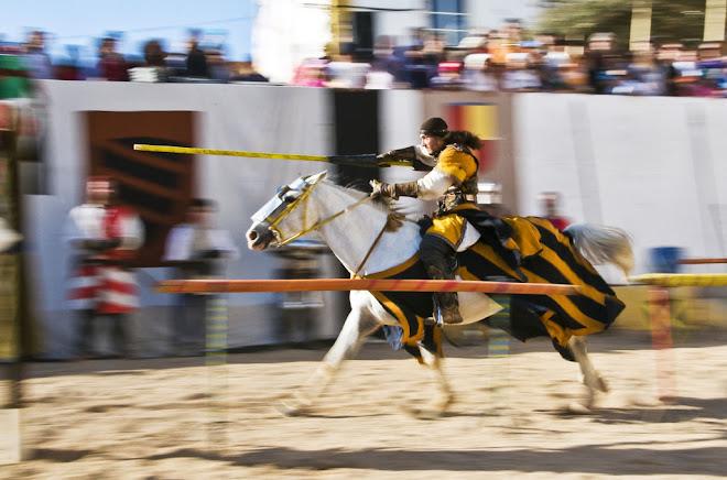 À carga! - Feira Medieval de Avis 2010