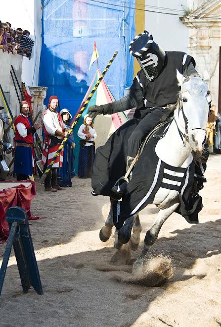 A galope para o alvo - Feira Medieval de Avis 2010