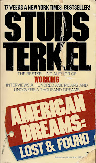 miss u.s.a. an essay by studs terkel Reviewing this collection in the chicago tribune, studs terkel remarked, in reading [the theater essays]  arthur miller 1962–2005, christopher bigsby (2011).