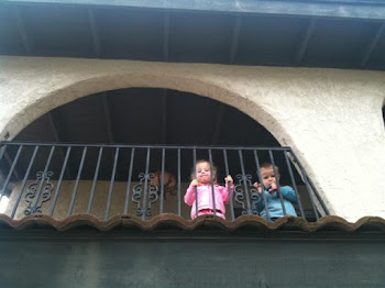 Kids on the Balcony