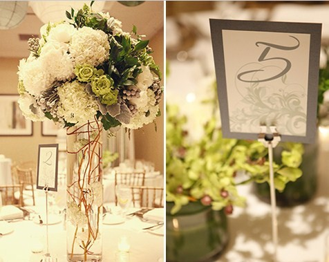 At Last wedding event design Unique Table Numbers Names