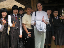 Students we met - Korean Folk Village