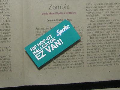Sprite, illegális reklám, hipp-hopp, Szinyei Merse ház, VI. kerület, Szondi utca, Budapest, street-art, reklám