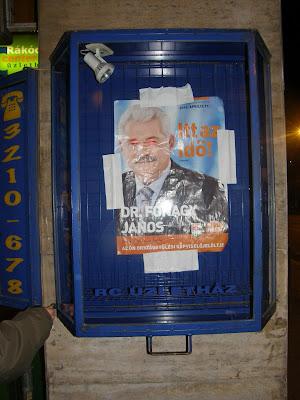 Fidesz, reklám,  Fónagy János, választás, 2010, Budapest, blog, korrupció,  Magyar Kétfarkú Kutya Párt, plakát, hack