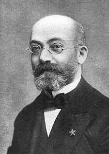 Ludwig Lazarus Zamenhof, Eliezer Samenhof, Zamenhoff, eszperanto, esperanto