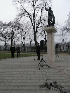 Szent István park, demonstráció, SZDSZ, Szabad Demokraták Szövetsége, Budapest, XIII. kerület