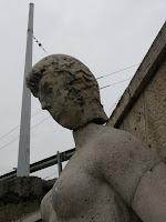 Budapest, Mecier-Varga Kútszobor, Chain Bridge, Ferdinánd híd, fotó, kép, képek, Magyarország, photos, pictures, vasuti, Westend, XIII. kerület