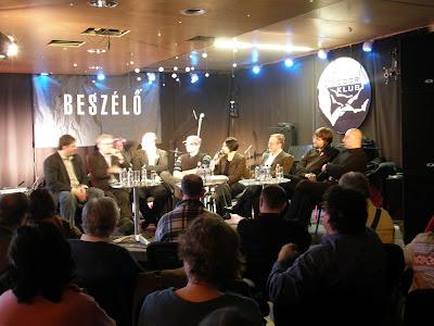 2009, belváros, Beszélő est, Budapest, Gárda, Gödör Klub, Jobbik, március 15, V. kerület