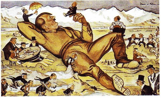 guerra politica: