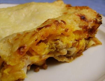 Le palais de lunye lasagnes la courge butternut une - Comment cuisiner une courge butternut ...