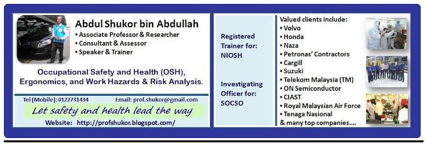 Assoc. Prof. Abdul Shukor bin Abdullah