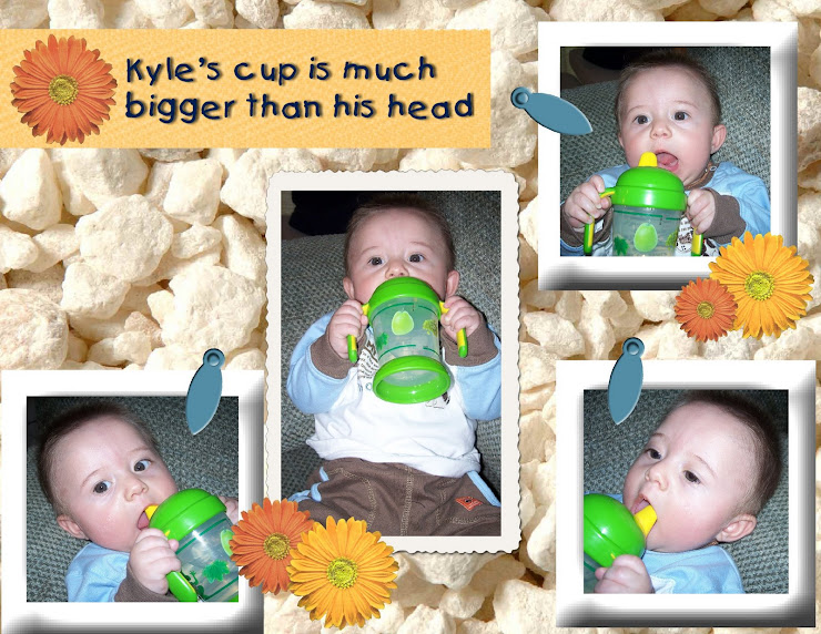 Kyle and his Sippy Cup