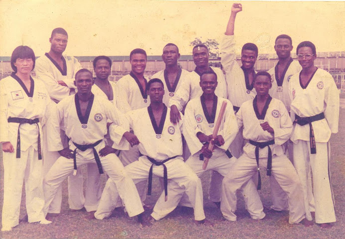 FROM THE ARCHIVES: Nigeria National Taekwondo Team