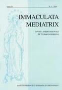 Immaculata Mediatrix. Rivista di Mariologia