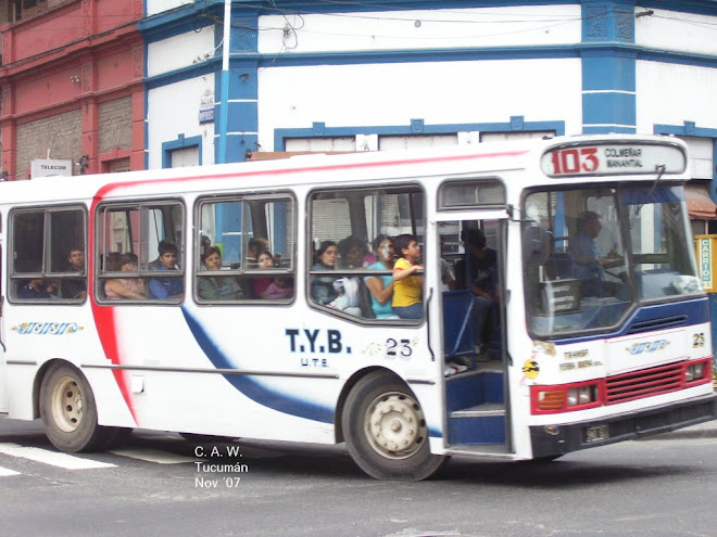 TRANSP. YERBA BUENA U.T.E. LINEA 103