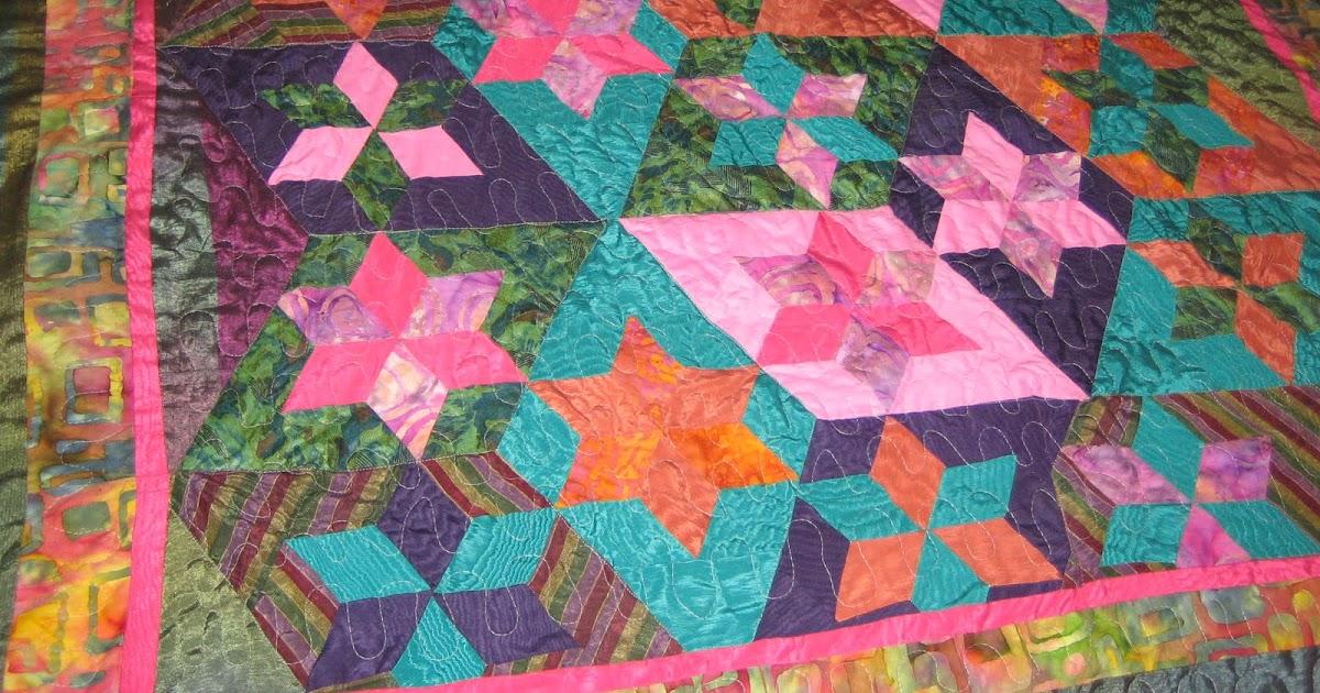 A & A Quilts: Jewish Star Quilt