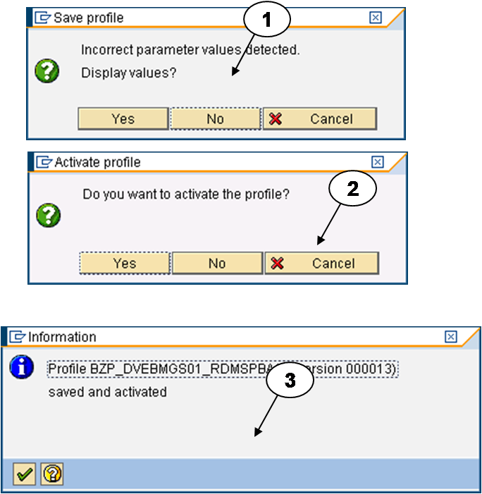 Sap knowledge sharing site profile parameter for Show parameter pool