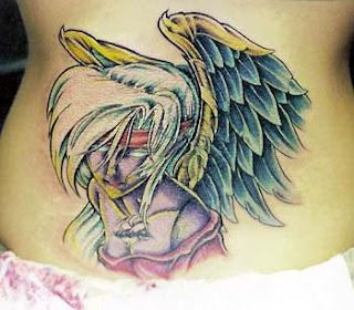 angel tattoo art