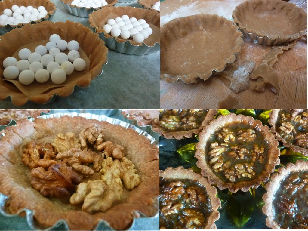 Diary of a Mad Hausfrau: Caramelized Walnut Tartlets