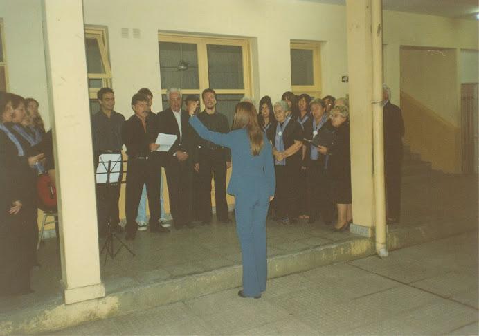 Coro de La Sociedad Italiana de Moreno