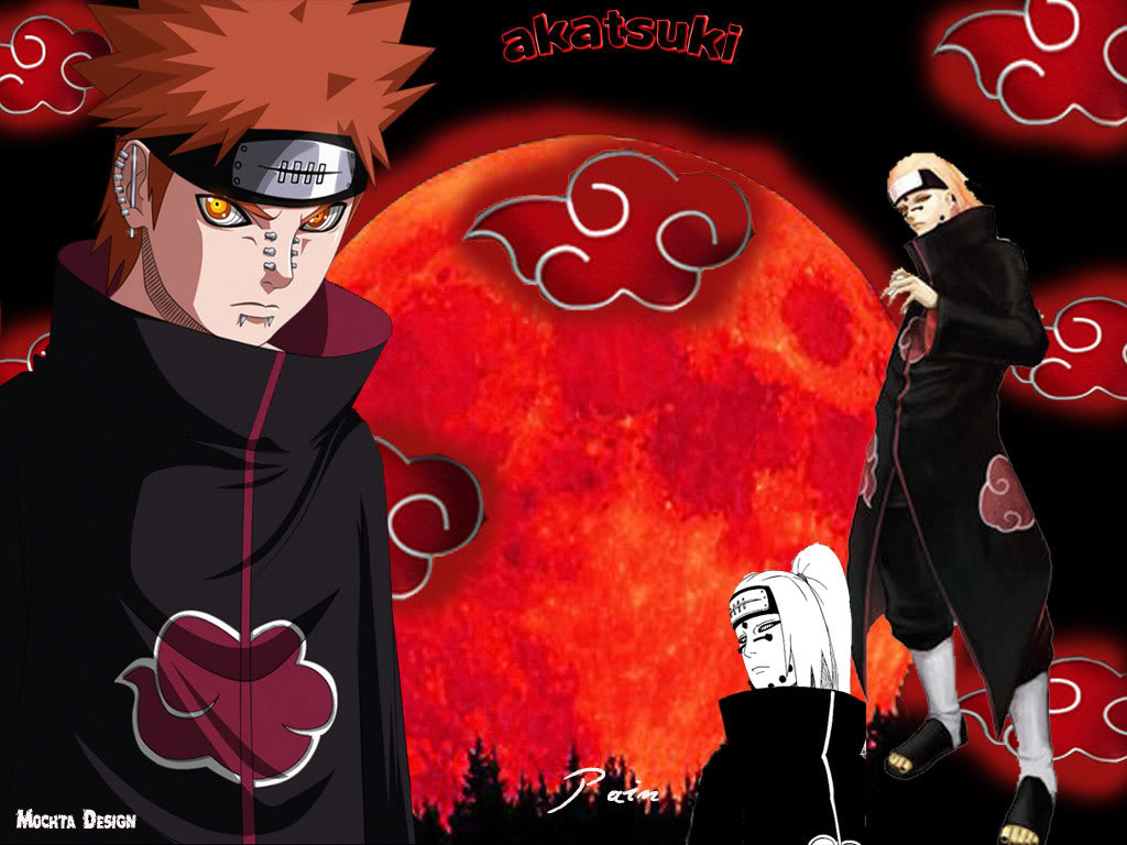 Wallpaper Pain Akatsuki ~ <center>Happy Revel</