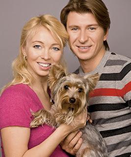 Alexei Yagudin and Tatiana Totmianina
