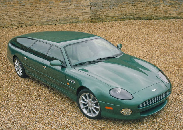 Wagon Visions Aston Martin DB Estate - 1998 aston martin db7