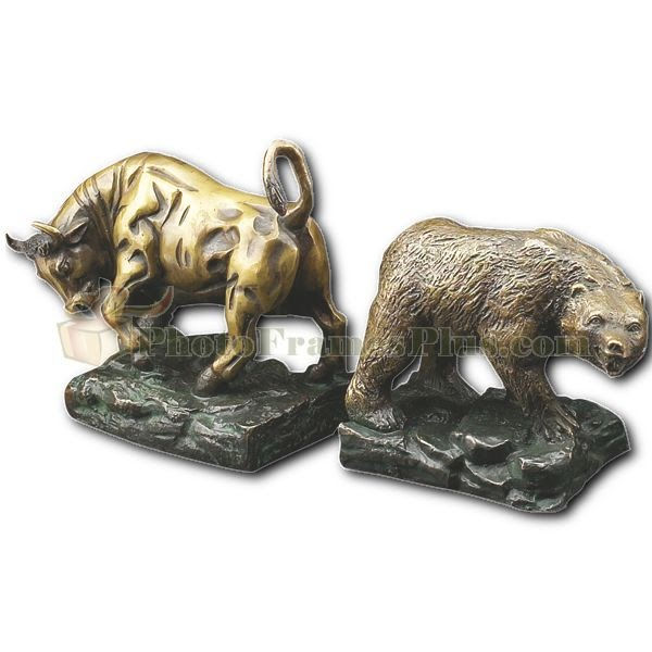 Giftsnthings Where To Find Great Bull And Bear Bookends