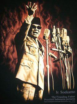 Soekarno,  The Founding Father  Presiden Indonesia Pertama, Bapak Kebangkitn Semangat Kemerdekaan