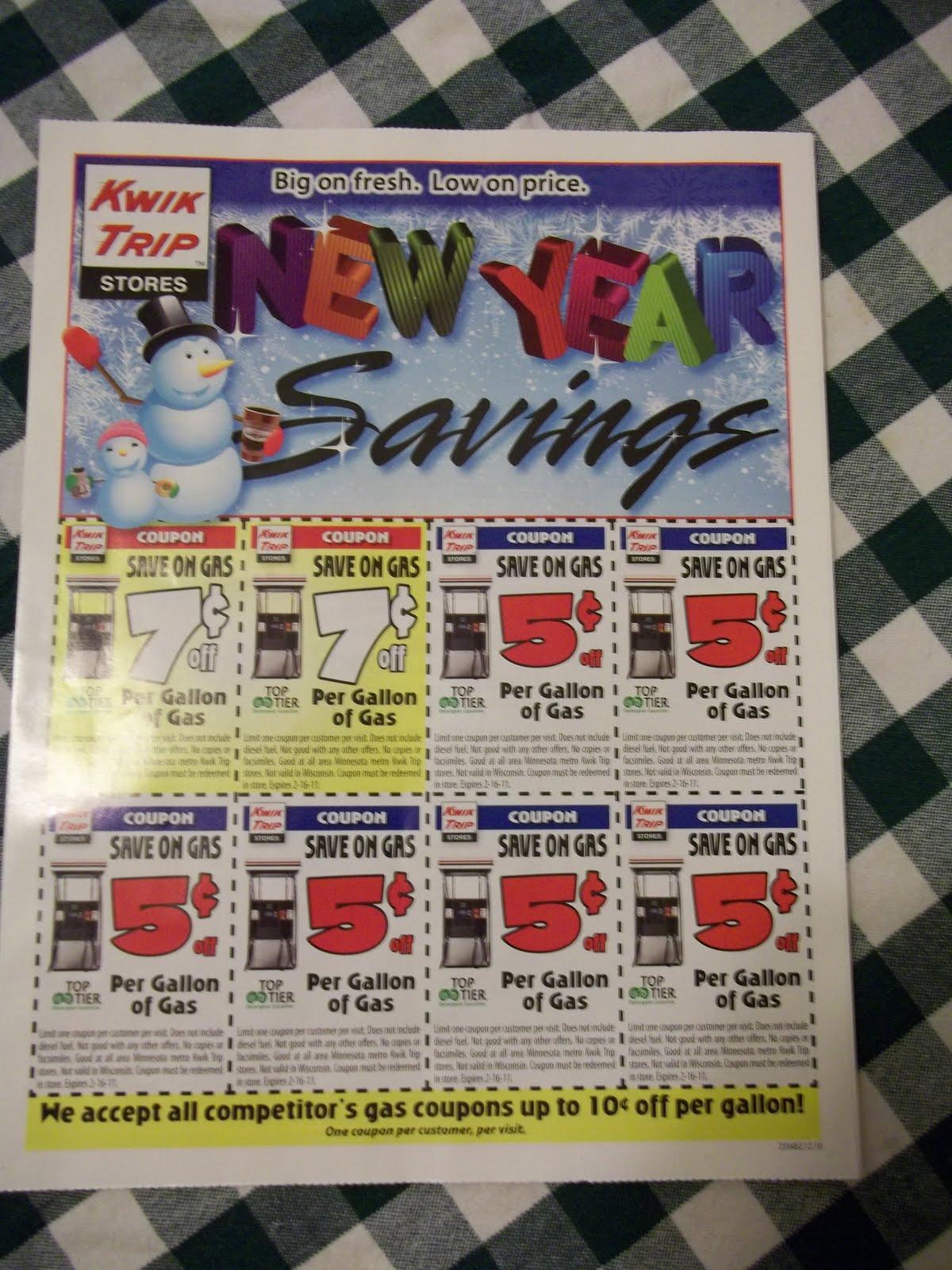 Kwik trip coupons