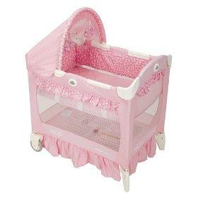 Babypink Graco Travel Lite Crib Sally