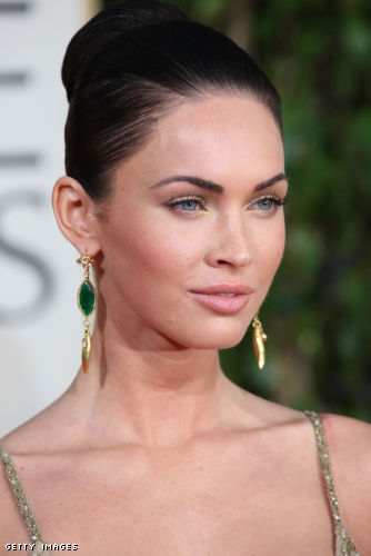 Sources spotted Megan Fox wearing the exact same brand and color on the
